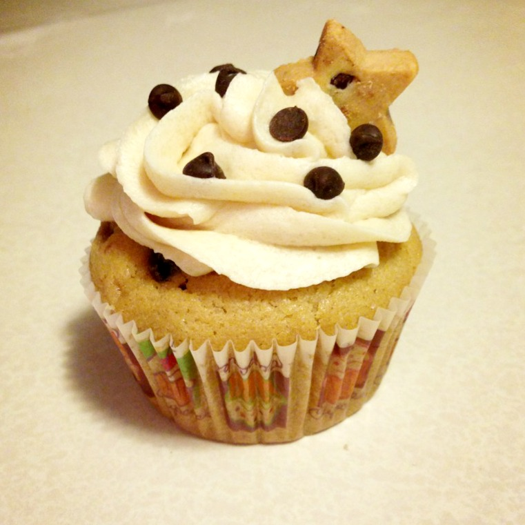 Buttercream Is Better: Chocolate Chip Cookie Dough Cupcakes
