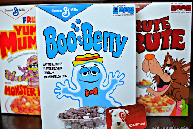 Monster Cereal and target gift Card #Giveaway