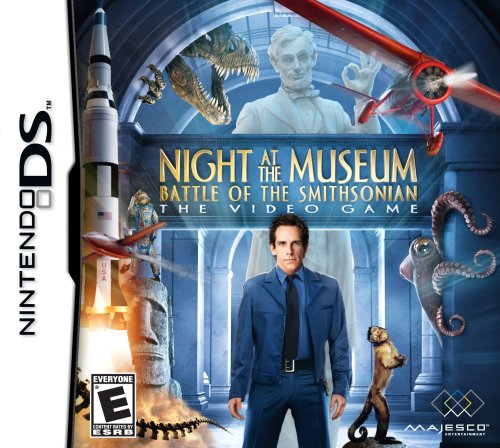 c5459.nightatthemuseumbattleofthesmithsonian Download Night at the Museum: Battle Of The Smithsonian 2009   Nintendo DS