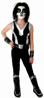 KISS - Catman Child Costume