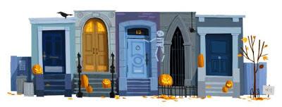 Halloween doodle de Google