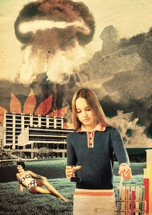 ©Julien Pacaud. Collage | Doctor Ojiplático