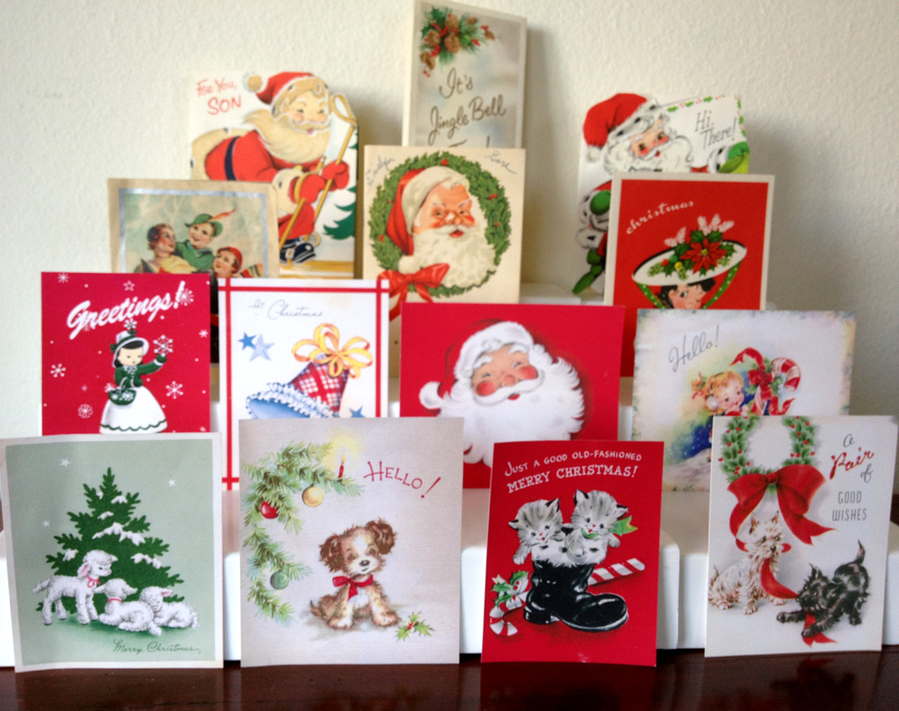 The Copycat Collector: COLLECTION #124: Vintage Christmas Cards