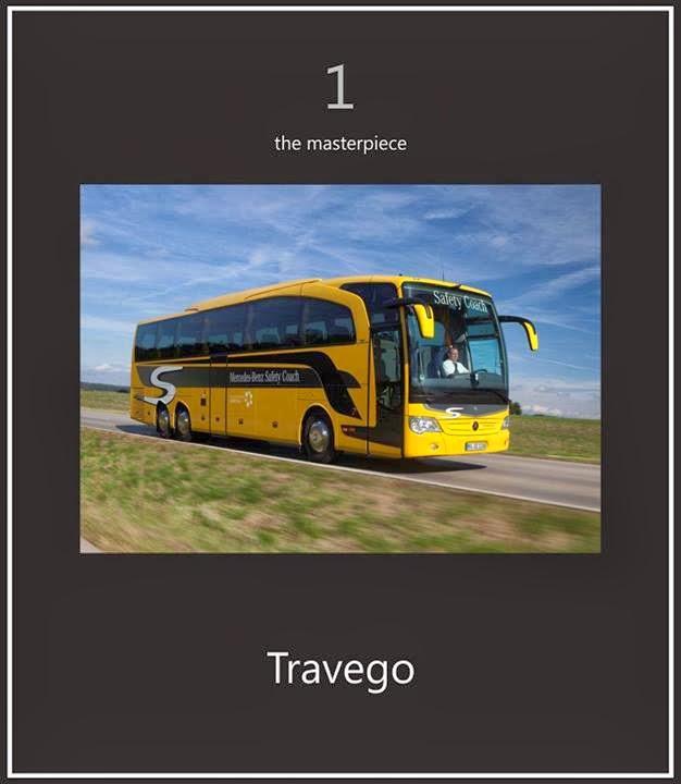 Travego bus terbaik dunia