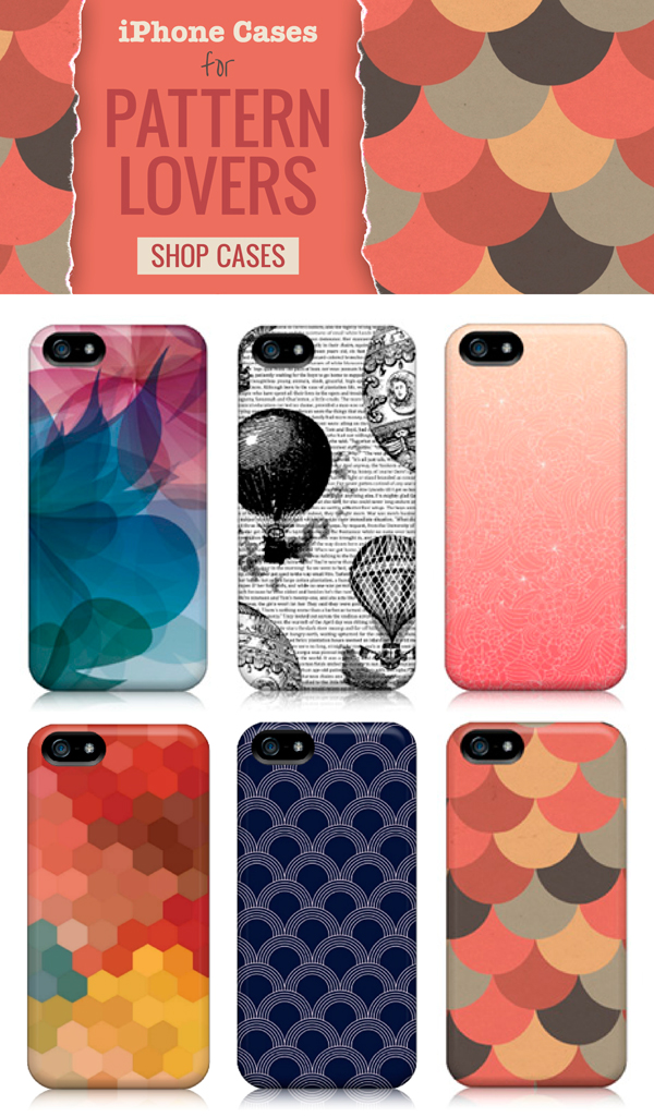 iPhone case for pattern lovers