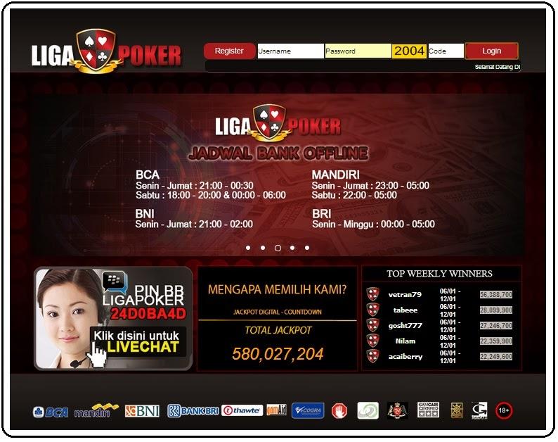 Ligapoker - klik Poker
