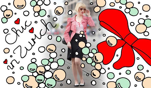Chic in Zurich, Dotti's Vintage, vintage outfit