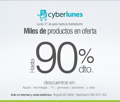 ofertas cyberlunes falabella 17-6-13