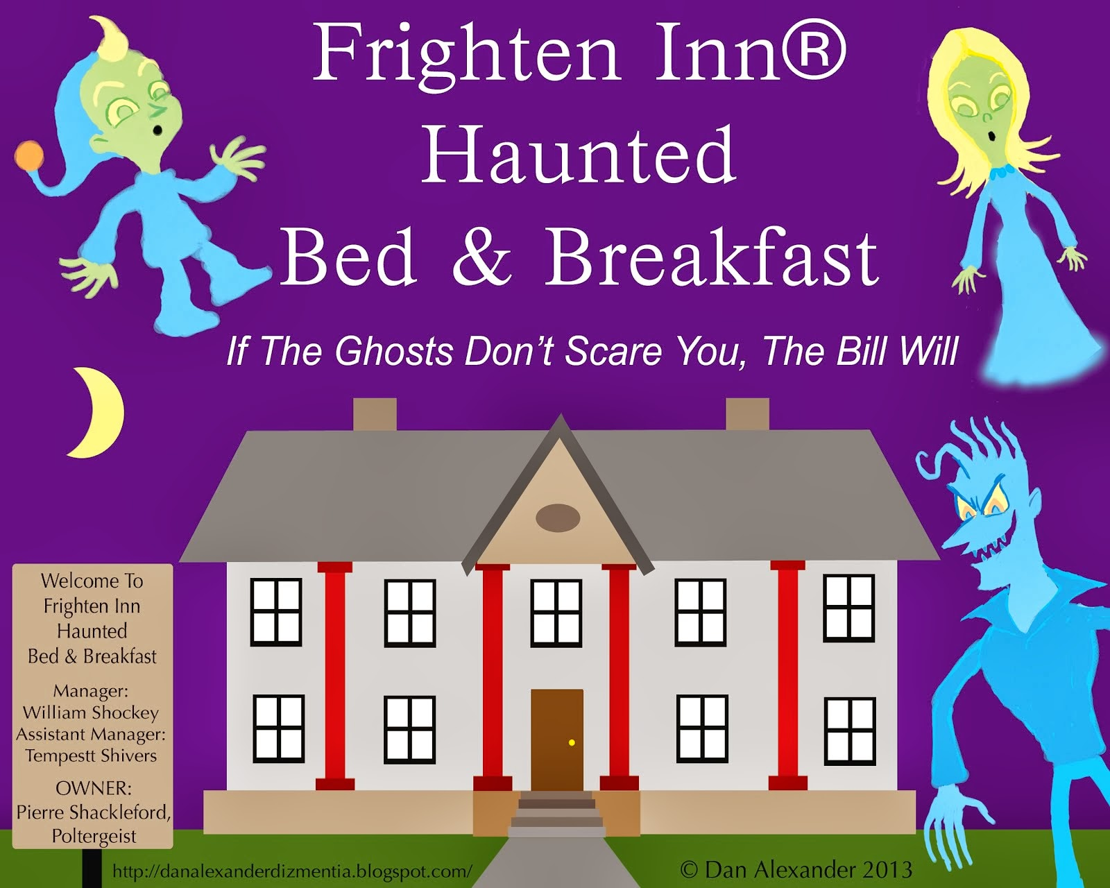 Frighten Inn Haunted Bed & Breakfast Is A Proud Sponsor of Dan Alexander Dizmentia