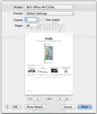 print,printer,printing in Lion,Mac OS X printing,Mac printing,How to Print in OS X 10.7 Lion
