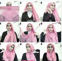 Selamat mencoba kreasi jilbab untuk akhir pekan ini!