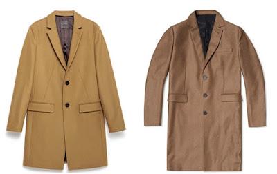 Мъжко официално палто