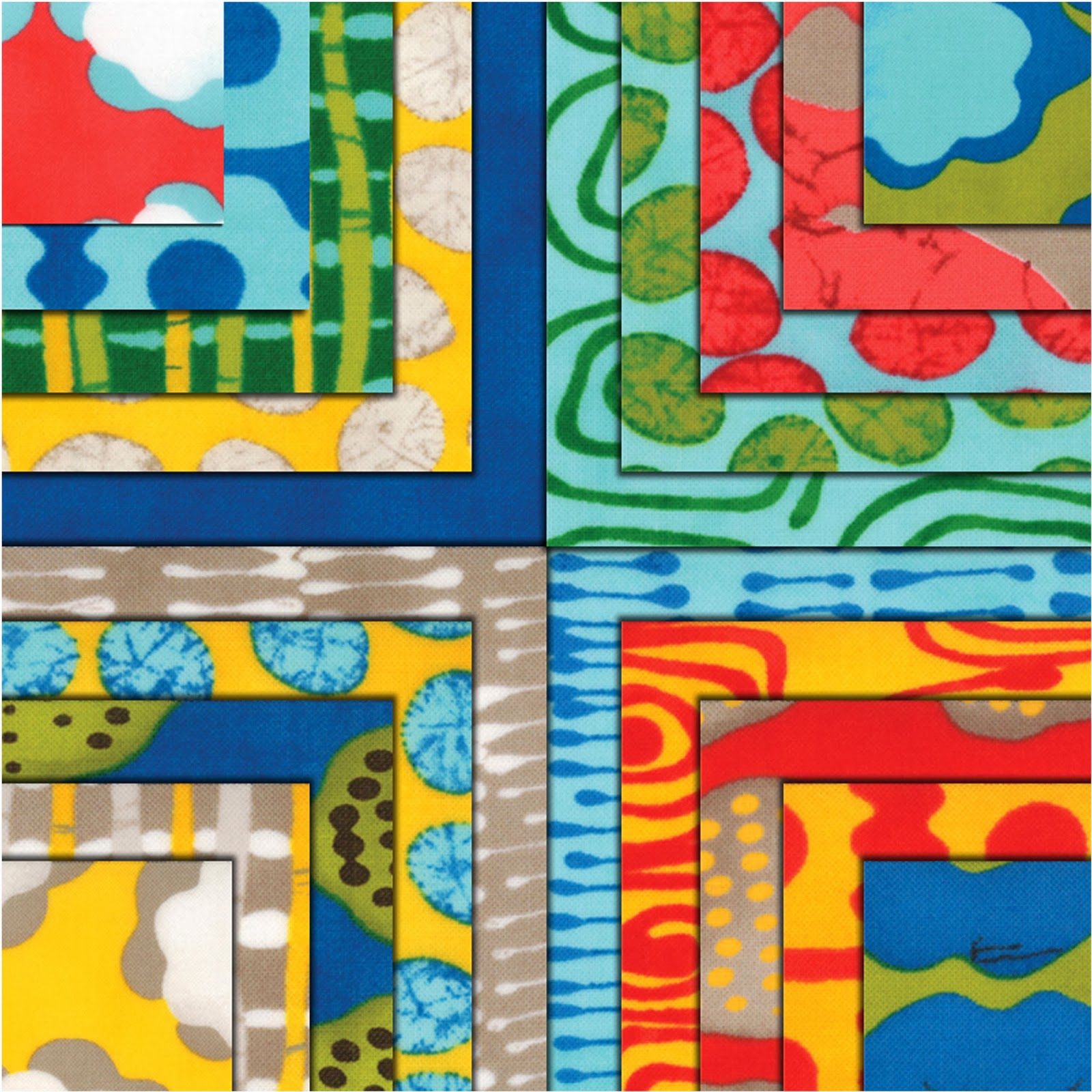Moda FROM OUTSIDE IN Quilt Fabric by Malka Dubrawsky for Moda Fabrics