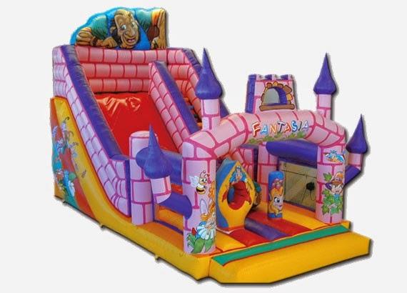 castillos inflables toboganes y saltarines para princesas