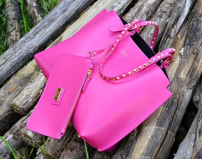 borsa nalu bags rosa fuxia
