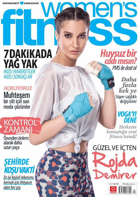 Actress, @ Rojda Demirer - Womens Fitness Turkey, January 2016