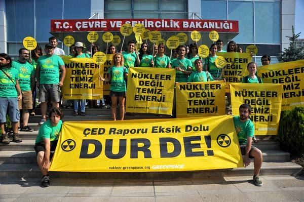 Nükleer enerjiye hayır...