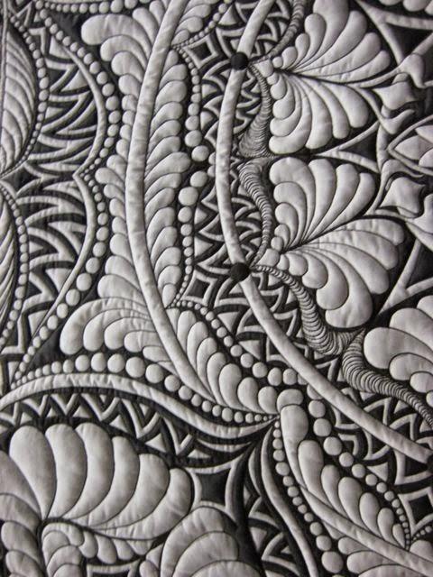 tkaniny pikowane artystycznie