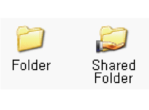 how to add a folder as a windows network share