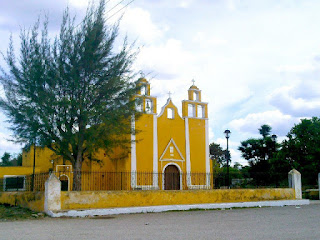 Iglesia Xanaba Yucatan Mexico