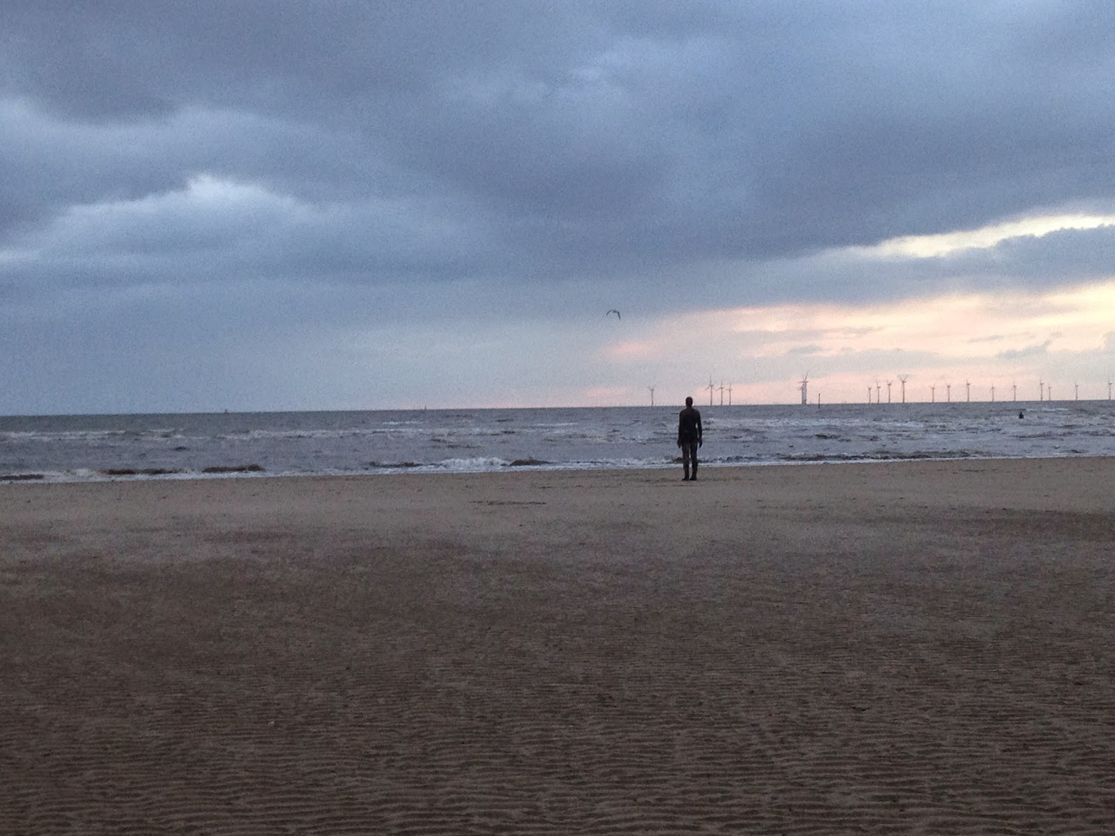 Crosby Beach Liverpool