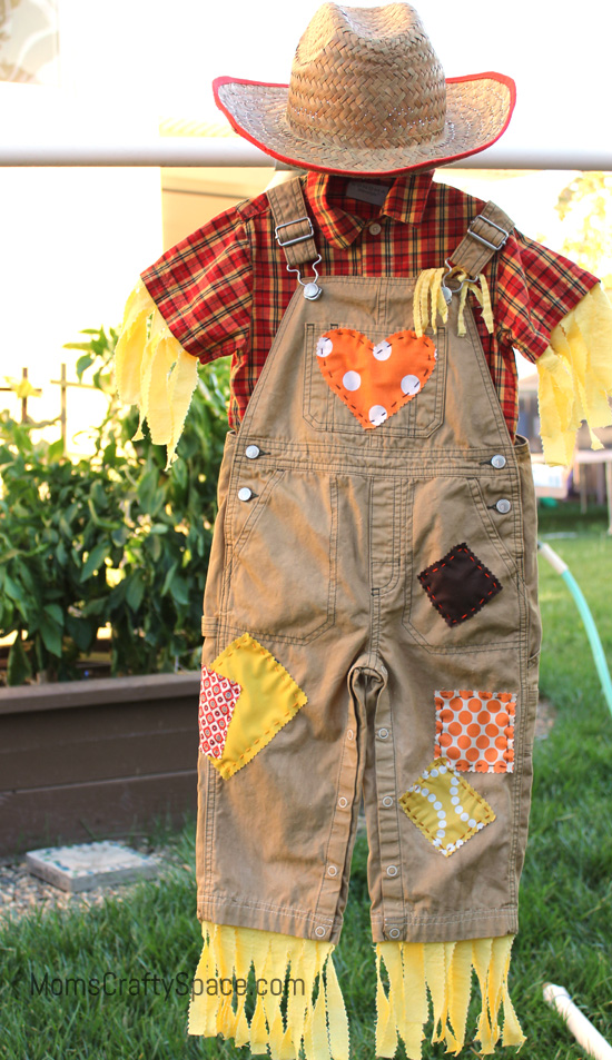 Homemade Toddler Scarecrow Costume Images amp Pictures Becuo