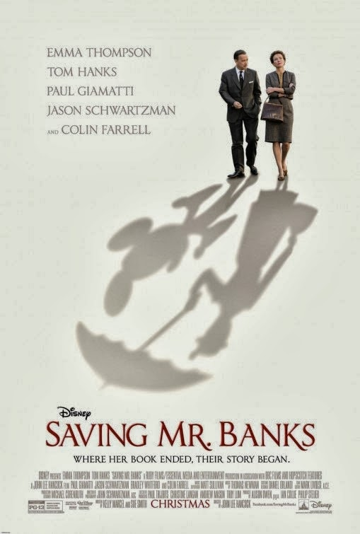 SavingMrBanksPoster2 Saving Mr. Banks 2013
