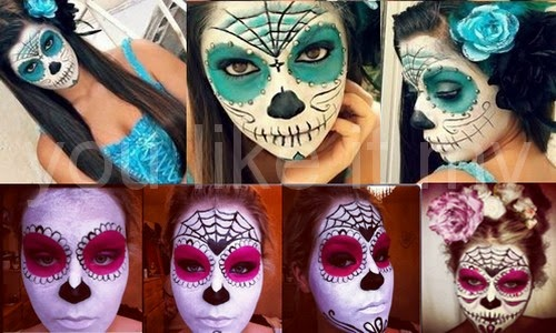 http://youlikeitmy.blogspot.com/2014/10/easy-sugar-skull-makeup-for-day-of-dead.html