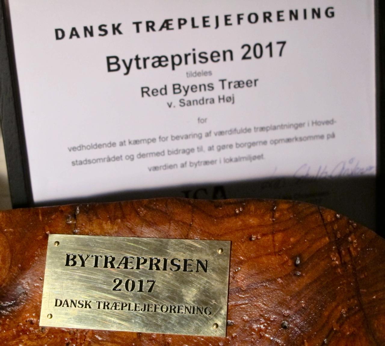 BYTRÆPRISEN 2017