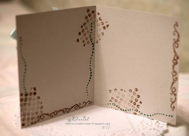оформление открытки