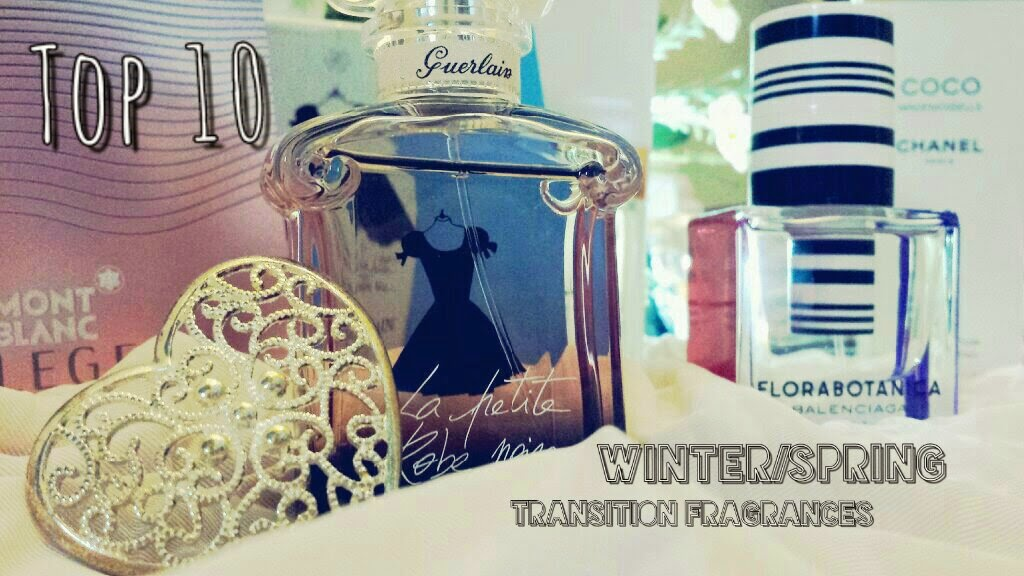 Top 10 Winter to Spring Fragrances