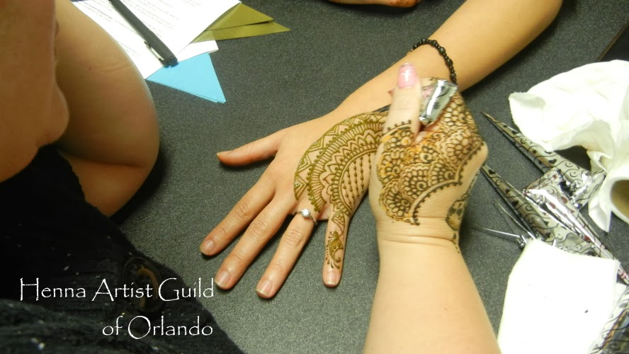 Ena's lovely fusion henna design on Zulay