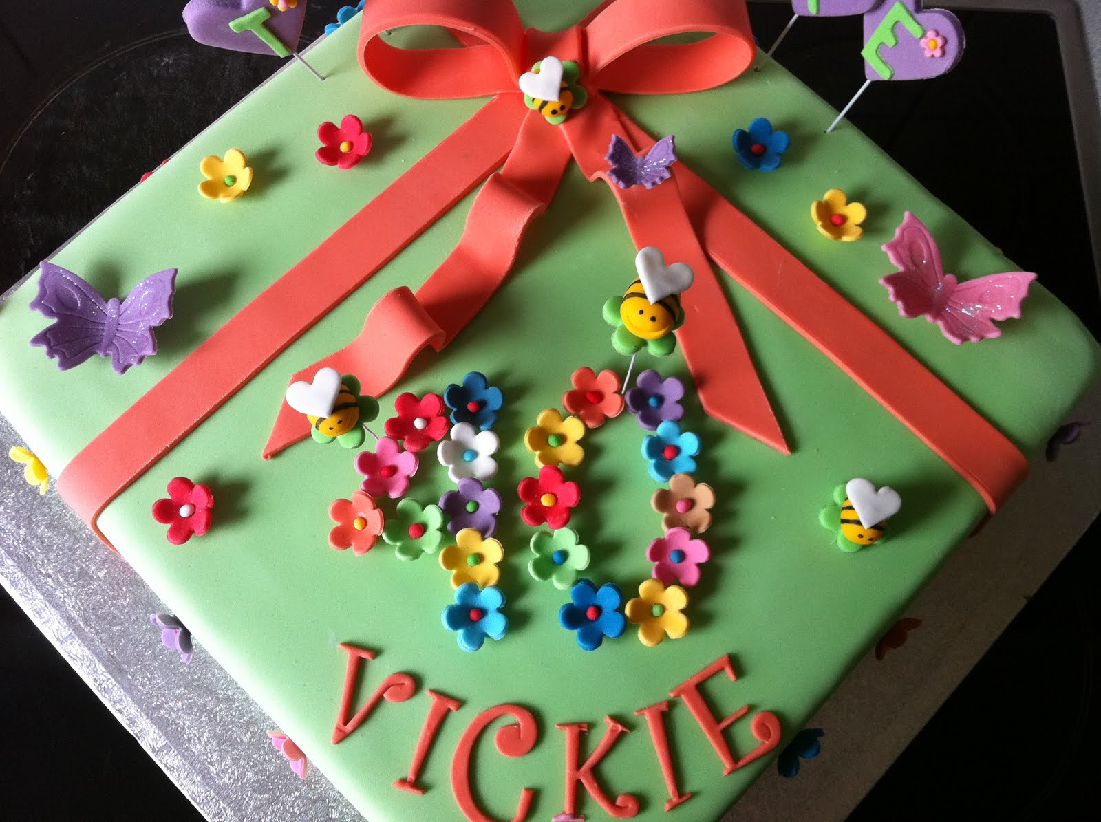 Birthday Cake Images With Name Vicky : HOLLYS CAKES: Happy Birthday Vickie