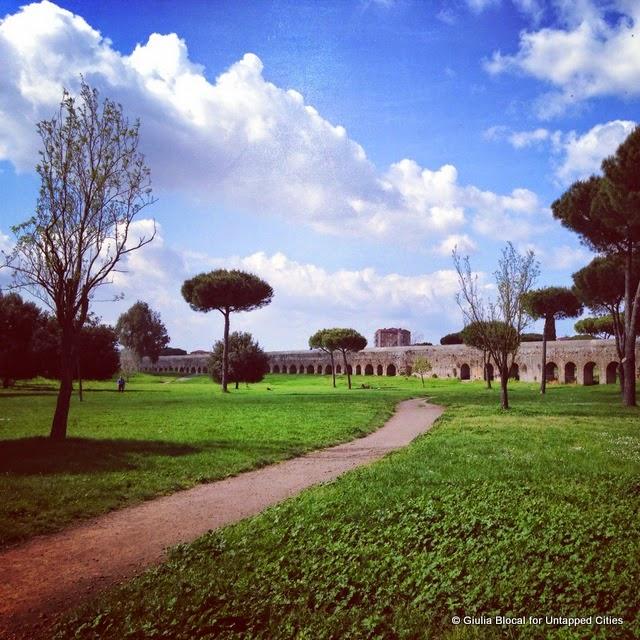 appian way regional park rome
