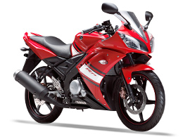 Red Yamaha R15 Color