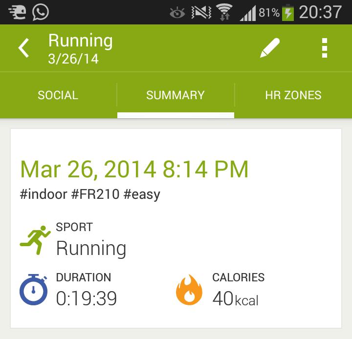 วิธีใส่ Tag ให้ workout ใน app