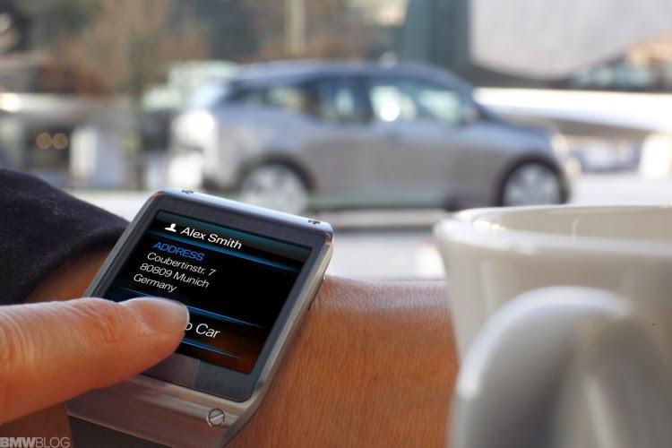 Controle sua BMW com o Galaxy Gear