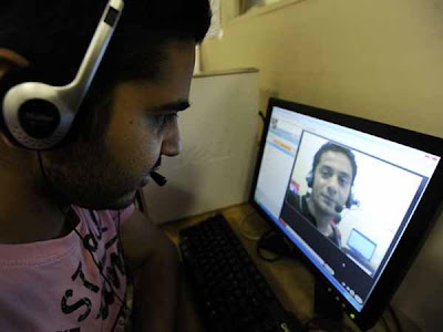 La primera cabina Skype del mundo