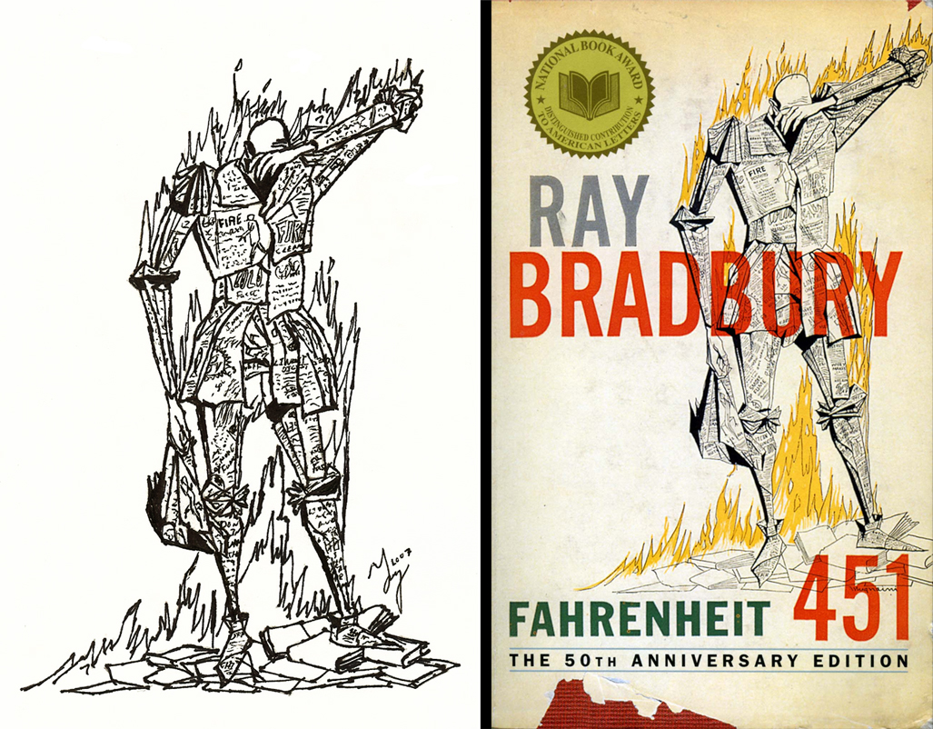 a criticism of knowledge in ray bradburys fahrenheit 451 Theme analysis of fahrenheit 451 the theme of ray bradbury's fahrenheit 451 can be viewed from several different angles first and foremost, bradbury's novel gives an anti-censorship message.