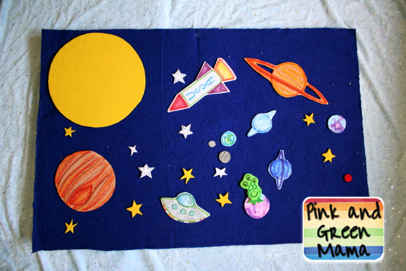 Pink And Green Mama Solar System Projects Outer Space