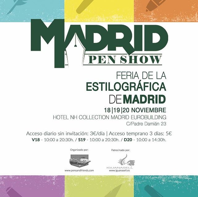 PEN SHOW DE MADRID