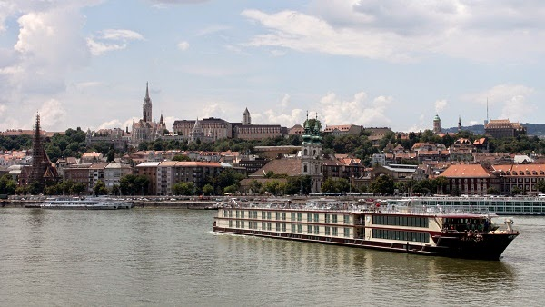 Vistas hacia Buda desde Pest