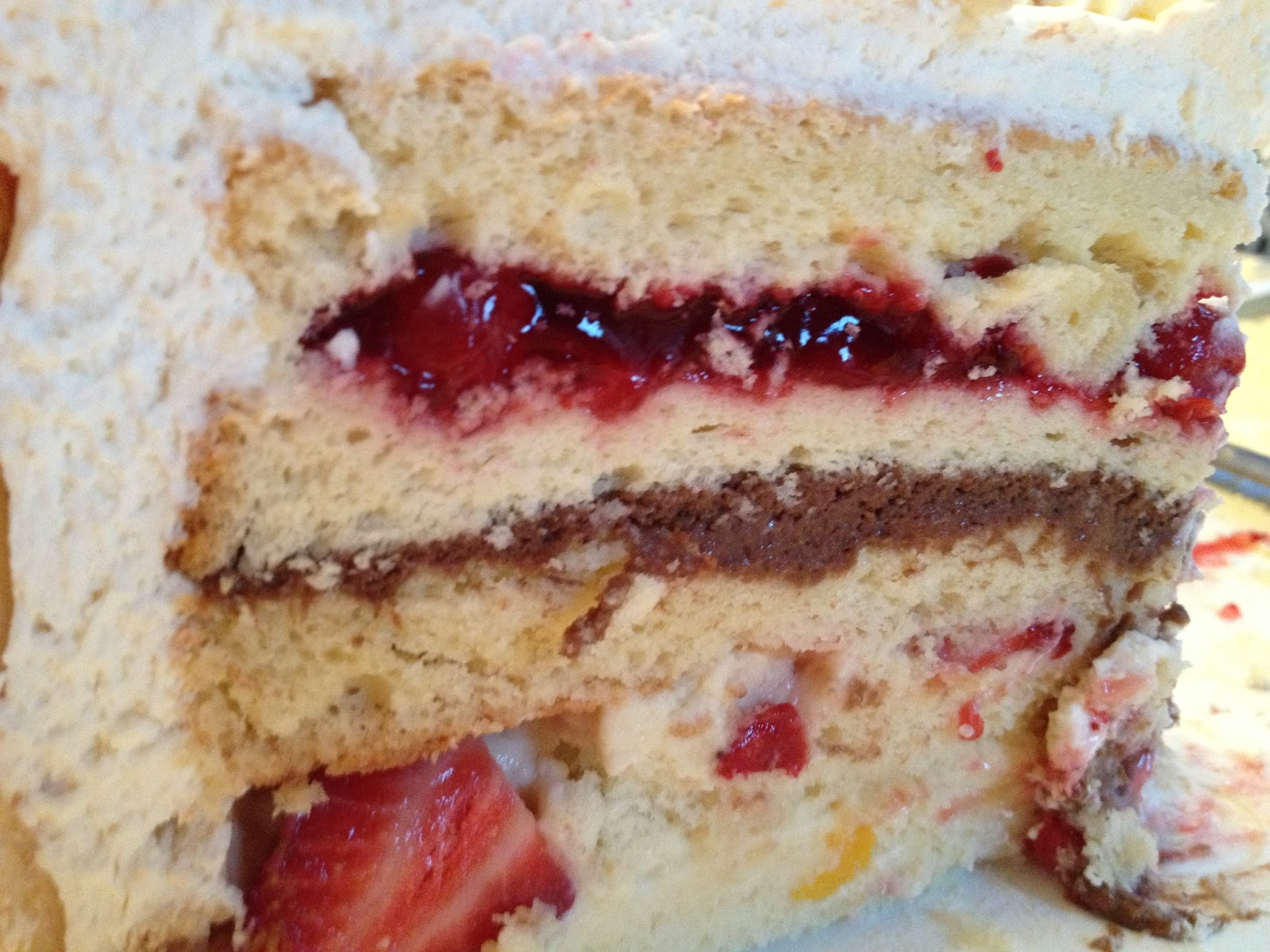Camille's Collections: Zuppa Inglese Cake!