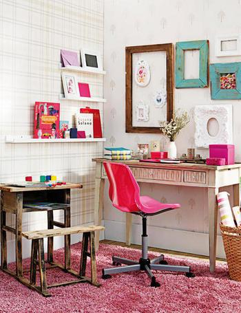 Cosas cotidianas elige tu mini despacho cool - Decorar despacho pequeno ...