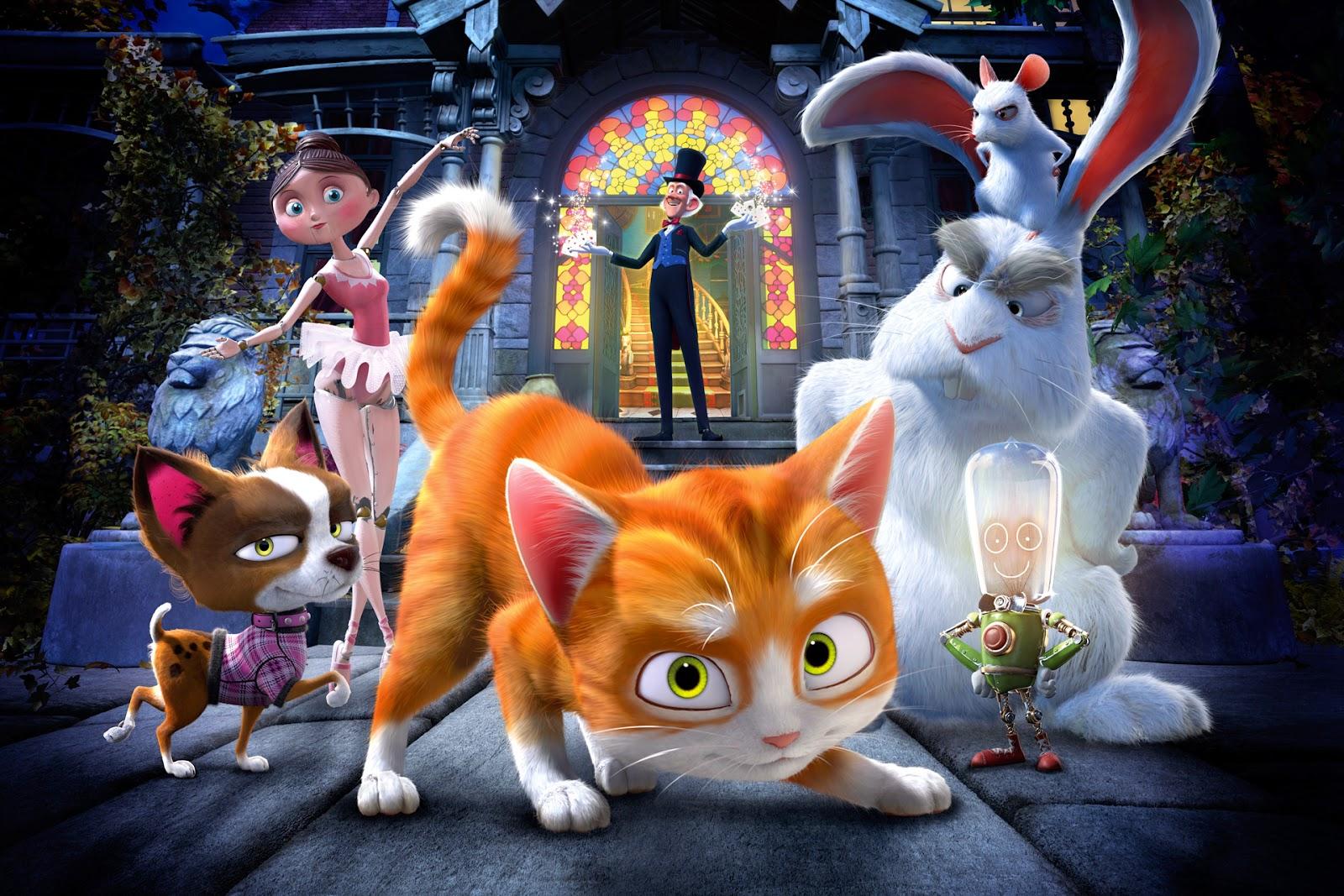 Скачать мультфильмы через торрент кот гром и заколдованный дом
