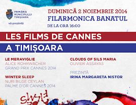 Filme de Cannes la Timisoara