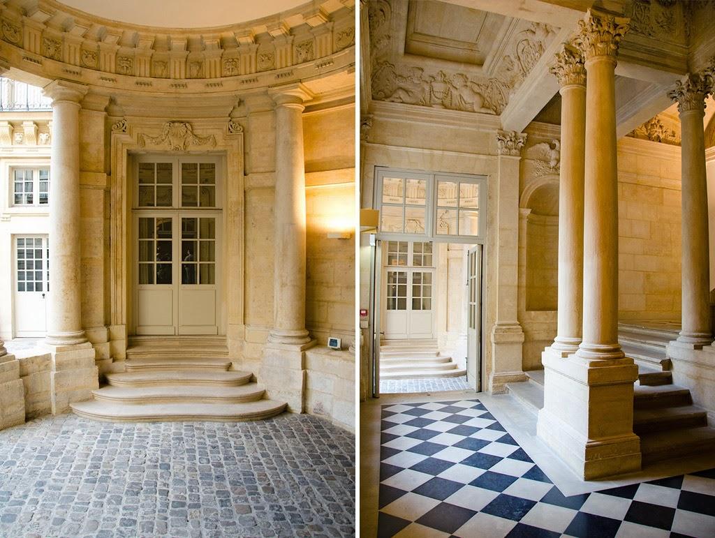 hortibus hotels particuliers de paris l 39 hotel de beauvais si ge de la cour administrative d. Black Bedroom Furniture Sets. Home Design Ideas