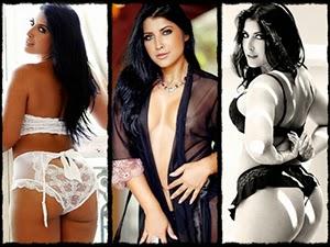 Ensaio sensual de Priscila Pires no Paparazzo