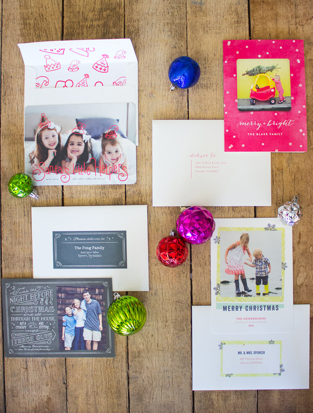 Minted 2014 Holiday Cards || http://www.designimprovised.com
