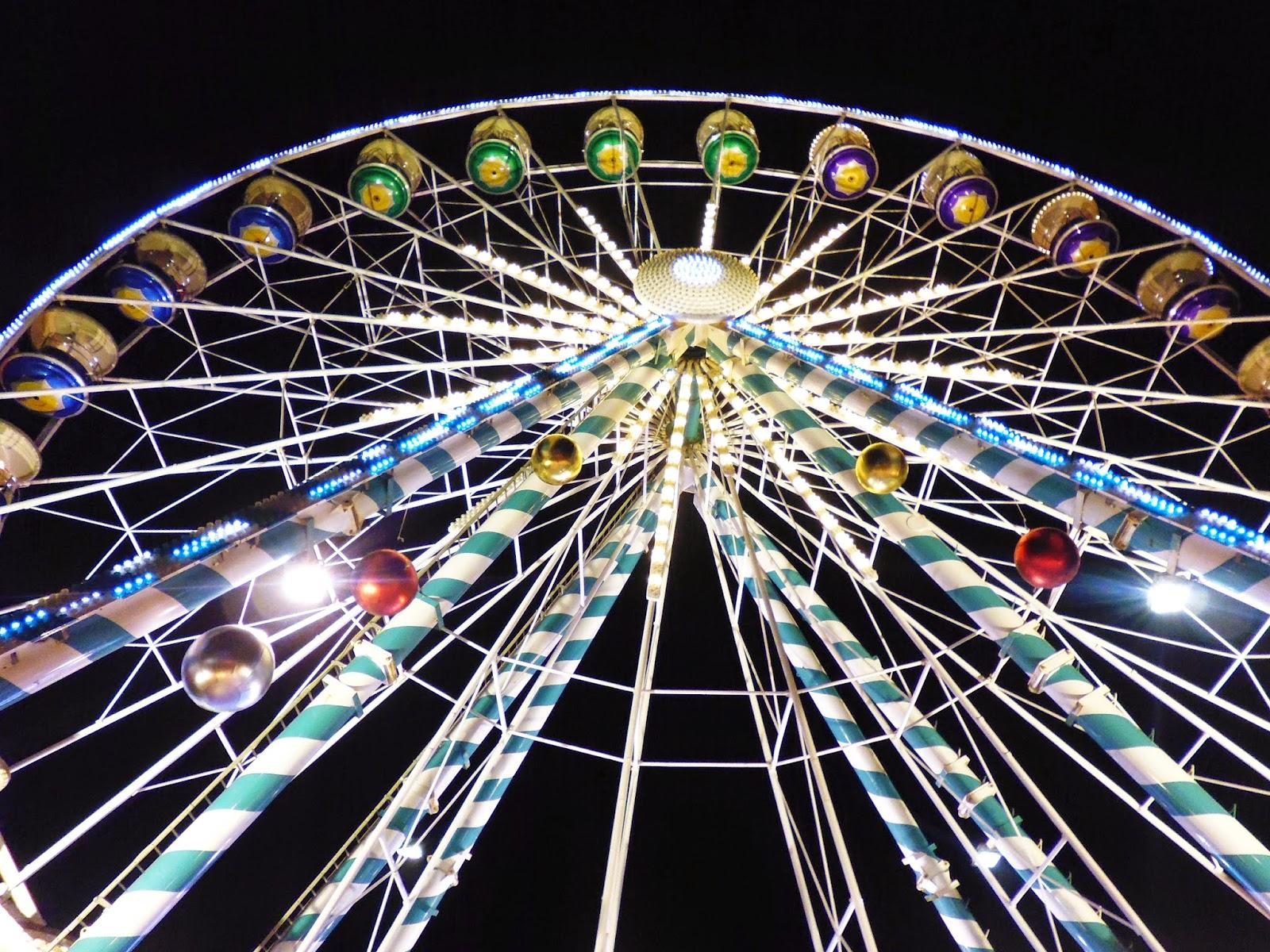 Grande Roue Marché de Noël Dijon